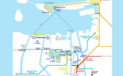 FUKUOKA - Destinations | Chubu Centrair International ...