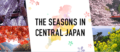THE SEASONS IN CENTRAIL JAPAN